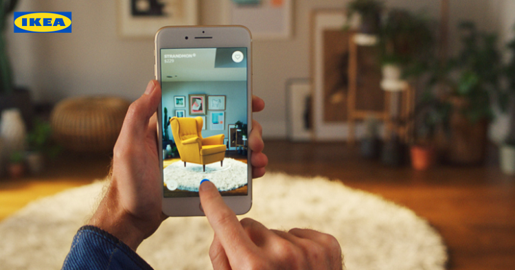 ikea-ar augmented reality genius ventures inc ar commerce