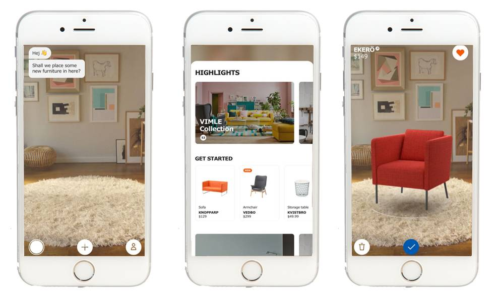 ikea augmented reality genius ventures ar commerce app
