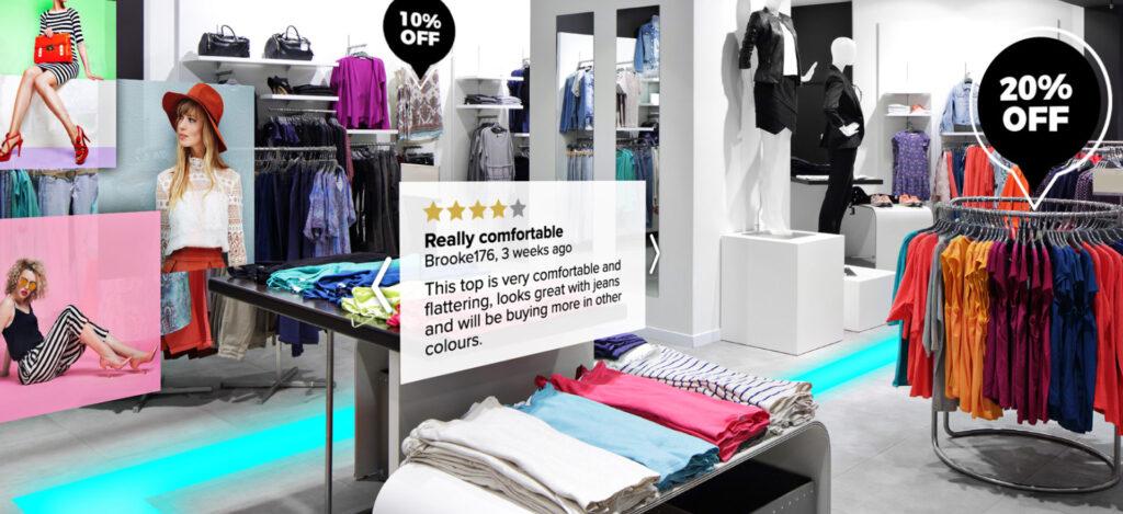 Augmented-reality-retail genius ventures AR ar marketing advertising ecommerce