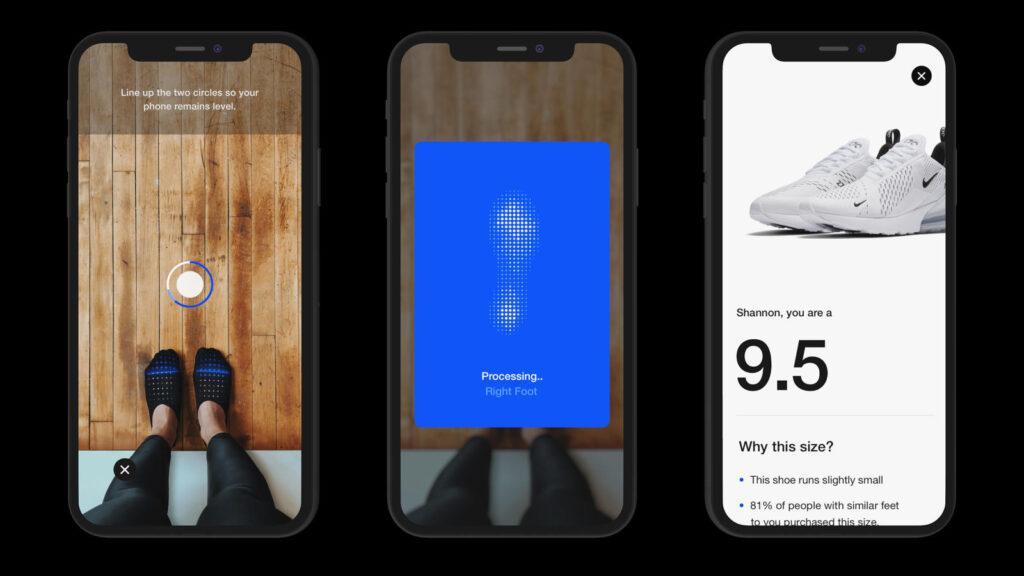 Nike_Fit_Scan_ augmented reality genius ventures ar advertising